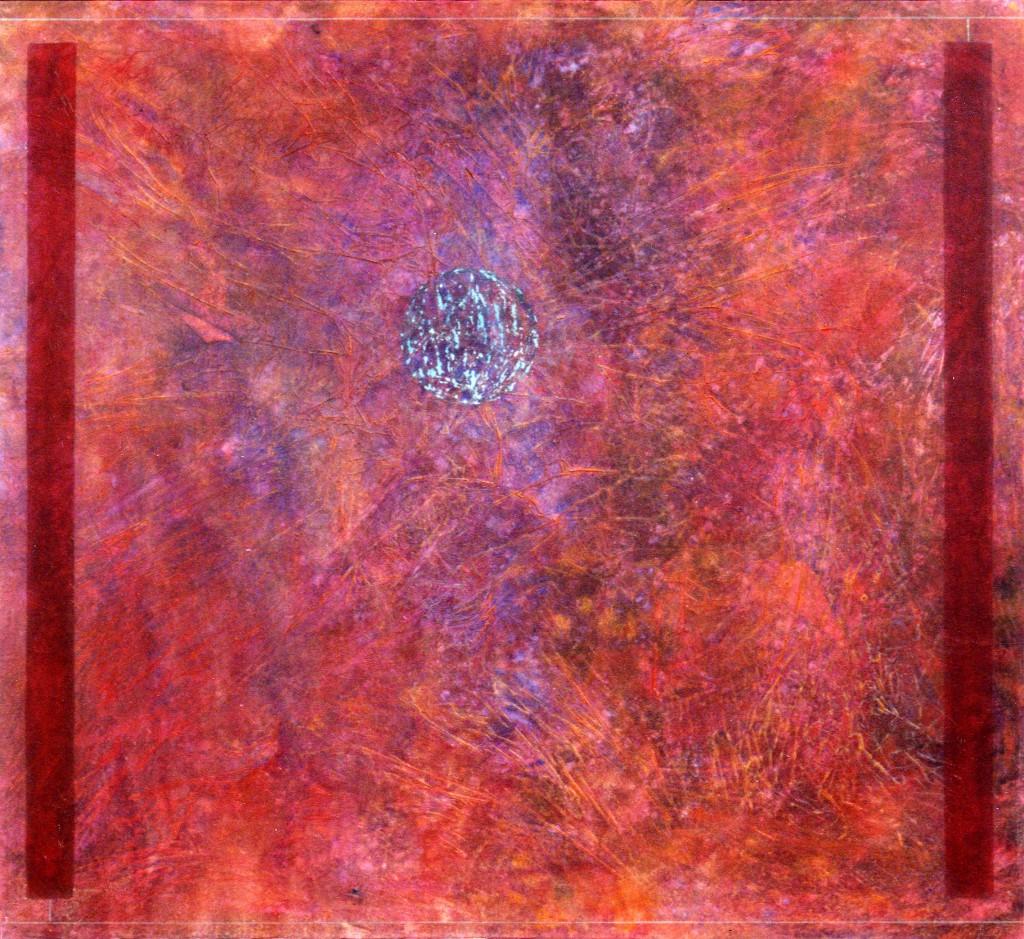 1993 Magnetismus 110 x 100 cm (sold DM 4000)