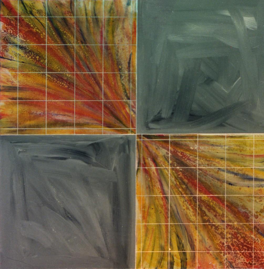 1988 Zentrum 100 x 100 cm