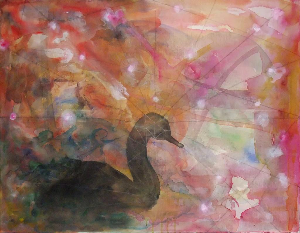 2013 Magic Goose 90 x 70 cm