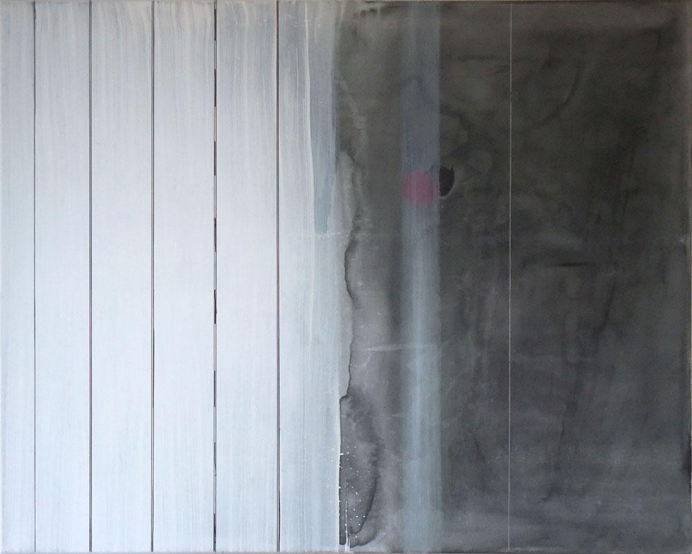 2015 Magenta Punkt 100 x 80 cm