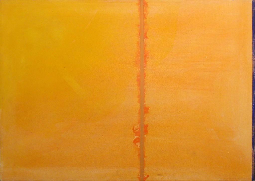 2001Blaue Kante 60 x 40 cm