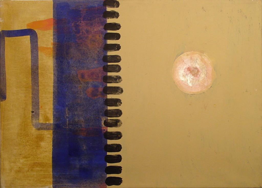 2001 Gestrichel  60 x 40 cm