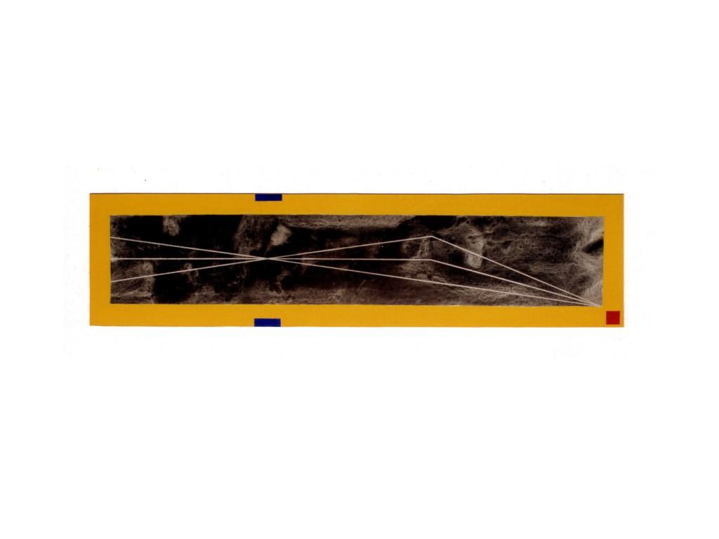 1990 Strahlen 120 x 30 cm