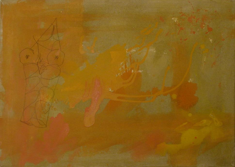 2005 Eule 60 x 40 cm