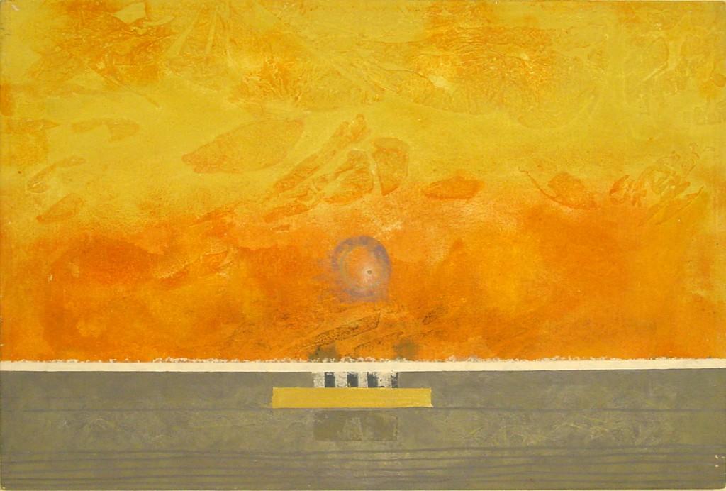 2001 Sundown 60 x 40 cm