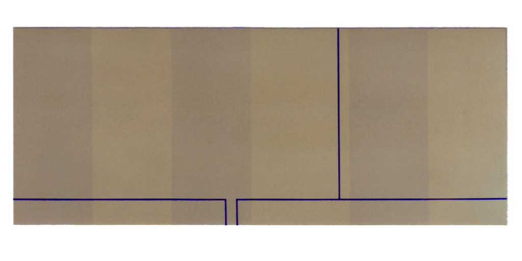 2000 Abzweigung  170 x 60 cm