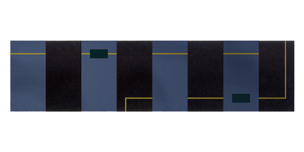 2000 Elektrobild 170 x 40 cm