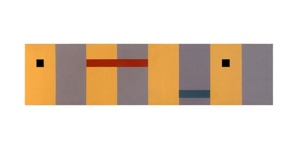 2006 Two Squares  170 x 40 cm