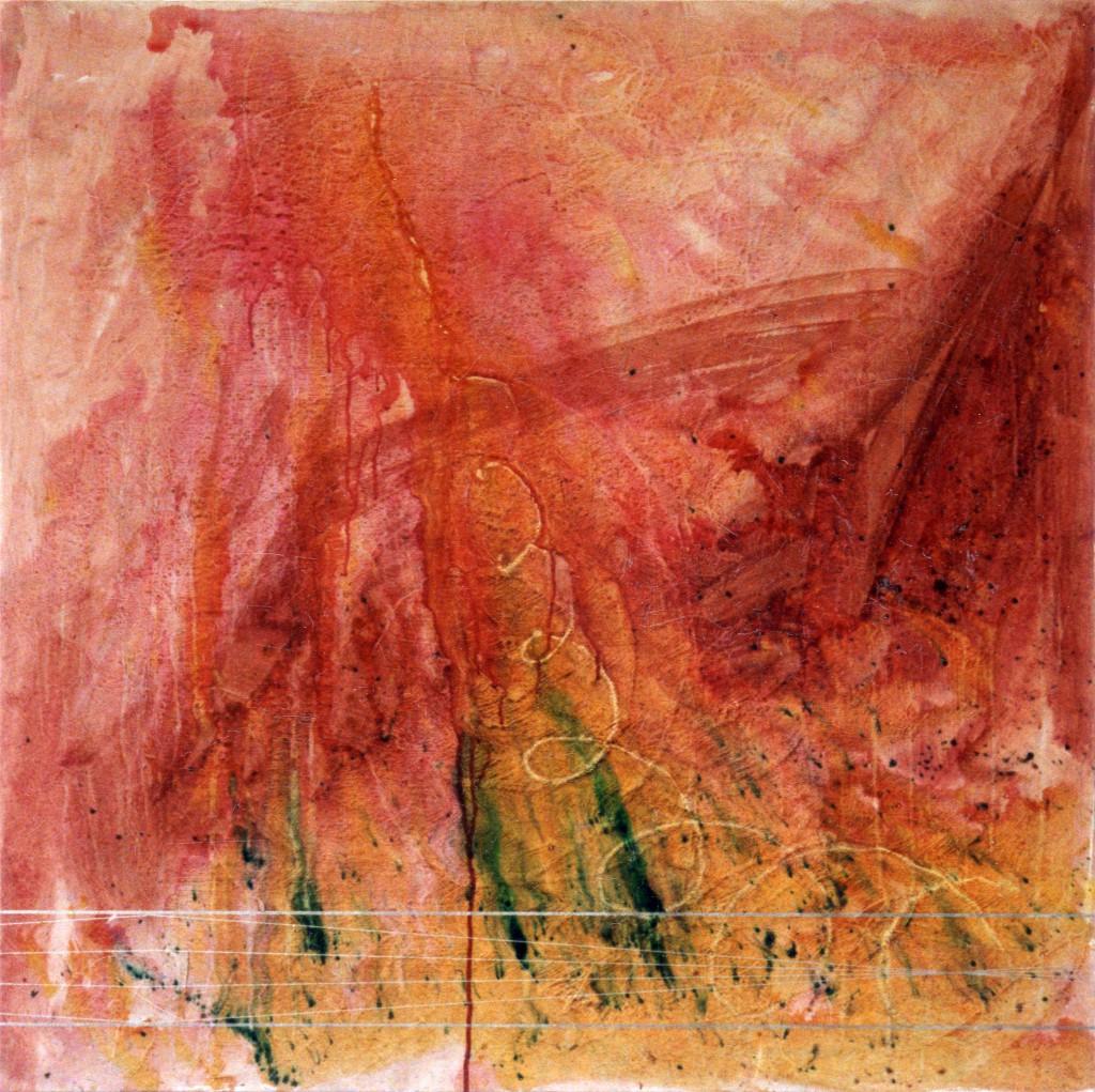 1996 Vortex 100 x 100 cm