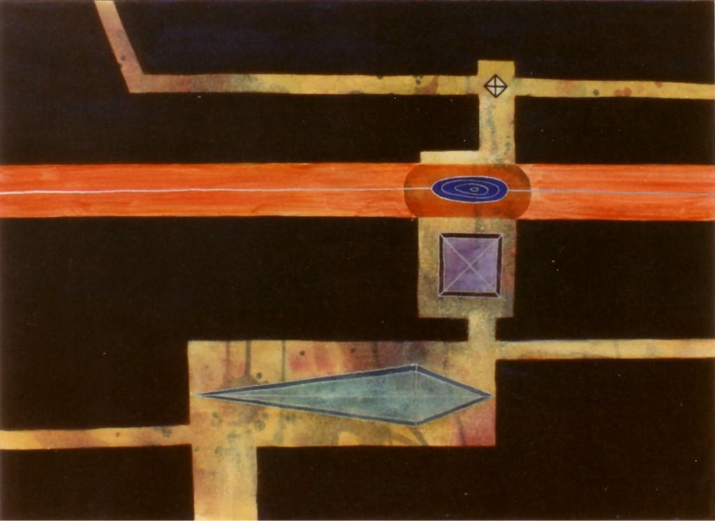 1998 Dig Dug 60 x 40 cm