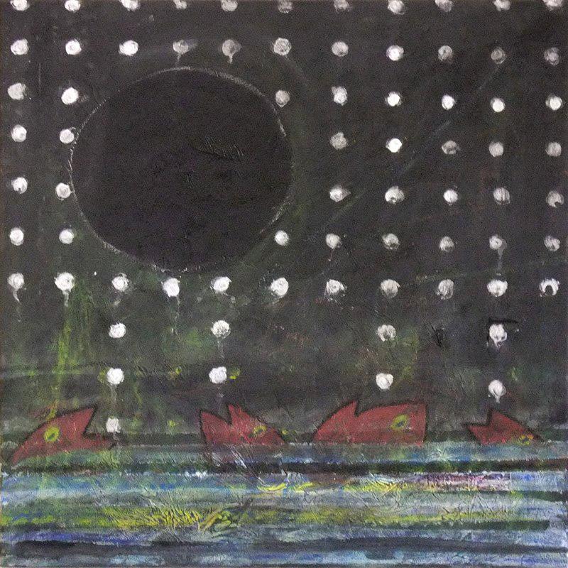 2012 Fische 50 x 50 cm