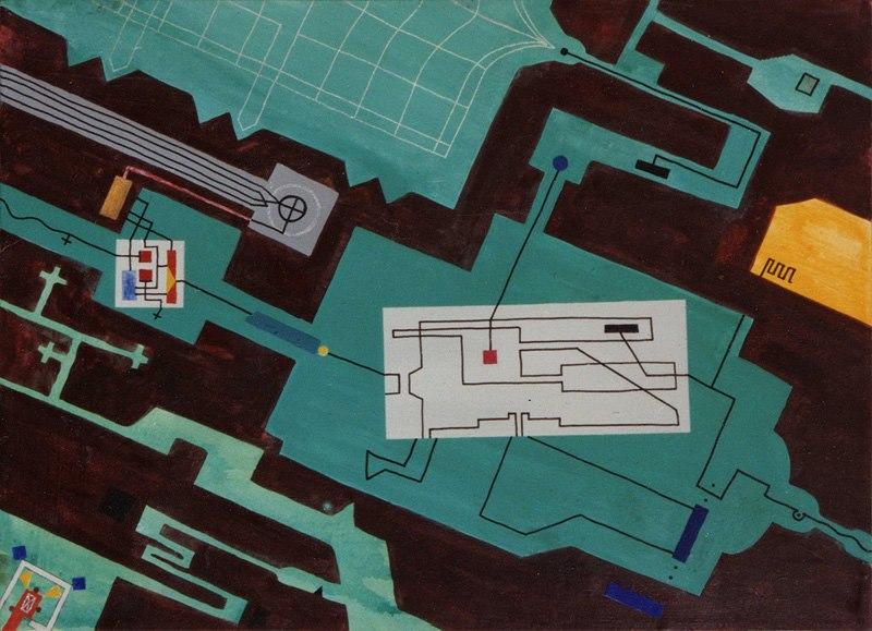 1998 Supermarkt 60 x 40 cm
